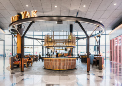 Fat Yak Bar at Sydney Airport