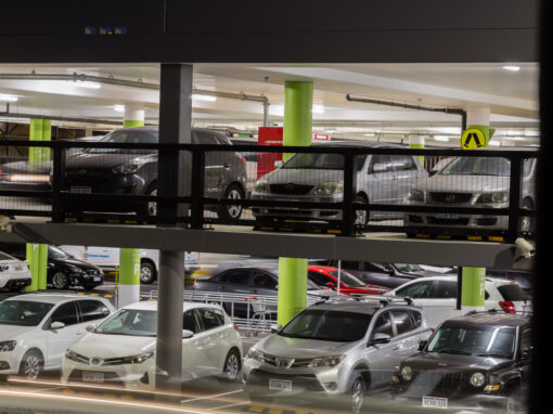 Westfield Carousel – New Multi Storey Carpark by Lighting Options, WA